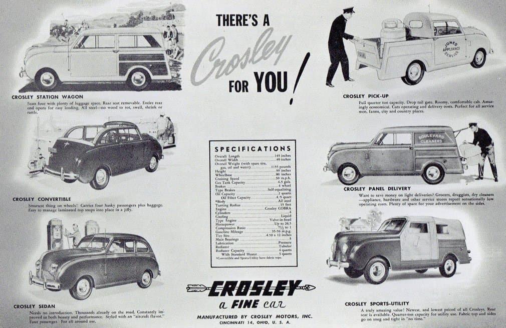 Crosley - Service Motors - The Crosley Parts Leader Since 1940!Service Motors - Crosley Parts Leader Since 1940!